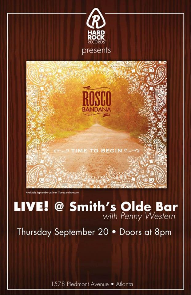 Rosco Bandana Promo Poster Smiths