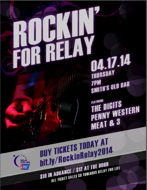 Rockin for Relay 2014